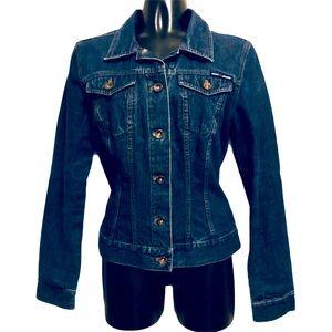 DKNY Jean Jacket Juniors Size Medium